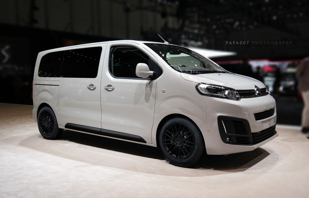 "Citroën SpaceTourer Tuning Sport ""Black and White"" Edition"