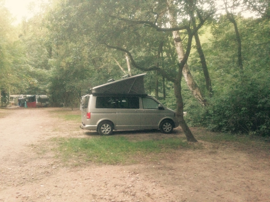 VW T5 California - ElbeCamp